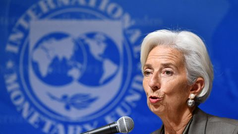 IMF chief Christine Lagarde has said she was horrified by the reports about Jamal Khashoggi's disappearance.