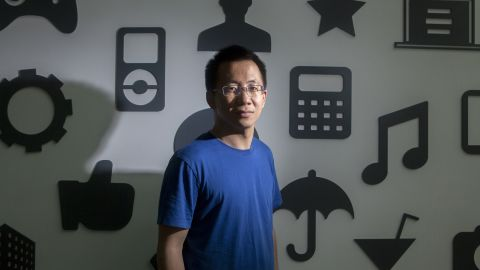 Bytedance CEO Zhang Yiming enjoys writing code in his free time.