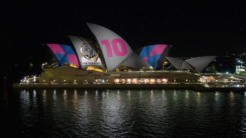 Protests broke out over a plan to light up the Sydney Opera House to advertize the upcoming Everest Cup horse race.
