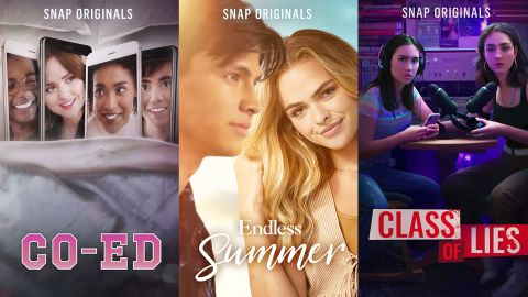 Three of Snap's new shows.