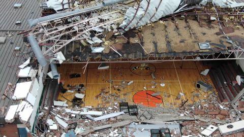 panama city gym destroyed
