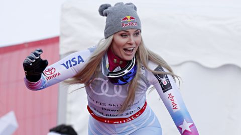 Vonn announced the current ski World Cup season would be her last. She is already the most successful woman in World Cup history with 82 victories and was chasing down Ingemar Stenmark's overall World Cup record of 86 victories in her sights.