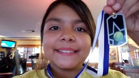 Sarah Radney, 11 years old, was killed when a carport flew into her grandparents' home during Hurricane Michael.