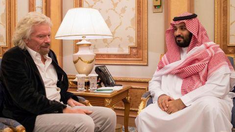 Billionaire Richard Branson has suspended business ties with Saudi Arabia.