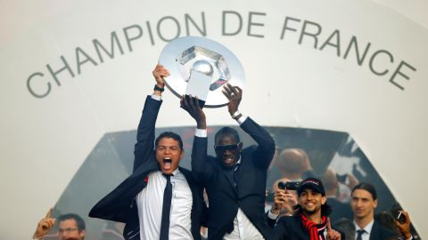 Sakho won a host of trophies at PSG. He opened his tally by helping to win the Coup de France in 2010, before adding the Ligue 1 title in the 2012/13 season.
