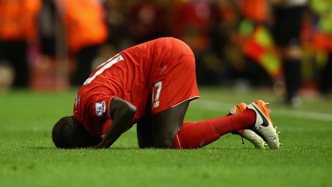 A lack of game-time in France was behind his move to Liverpool in 2013. However, a string of injuries prevented Sakho from establishing himself in the side as Liverpool came close to clinching the English Premier League title in his first season at the club.