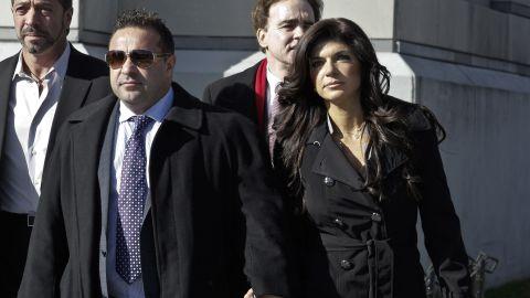 Joe and Teresa Giudice in a file photo from 2013.