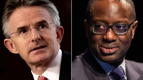 HSBC CEO John Flint and Credit Suisse CEO Tidjane Thiam have joined the exodus from 'Davos in the desert.'