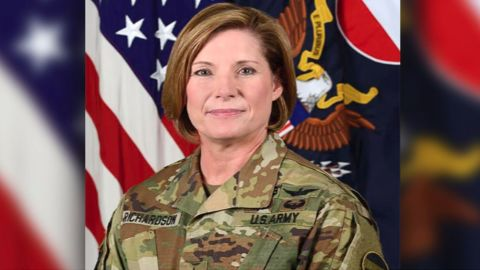 Lt. Gen. Laura J. Richardson earned her pilot's license at age 16 and has flown to high rank in the Army.