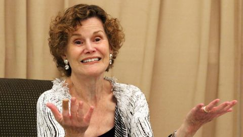 Author Judy Blume in 2015