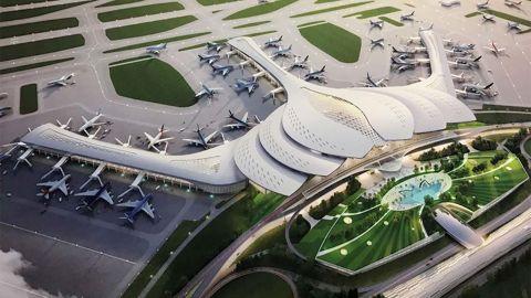 Long Thanh International Airport Ho Chi Minh City