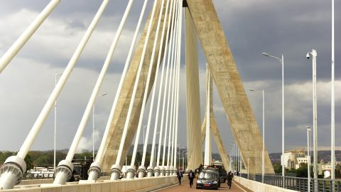 Source of the Nile is the fifth largest bridge in Africa.