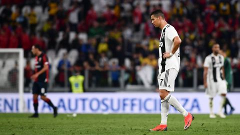 """Since moving to Turin, Ronaldo has been sued over an alleged rape in Las Vegas in 2009. He has denied the allegations and says he has a """"clear conscience."""""""