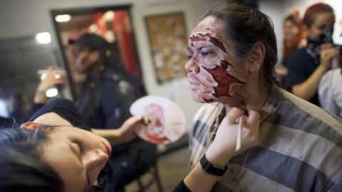 Check how your skin will react to face paint before you slather your face with it. Applying a small bit on your arm a day or two before could save a lot of scratching, swelling, redness and embarrassment if you end up being allergic, the US Food and Drug Administration advises.