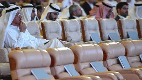 Many senior officials and top executives have pulled out of this year's conference.