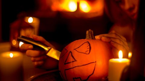 Pumpkin carving takes the lead each year over other Halloween injuries, according to the Consumer Product Safety Commission. Safety experts suggest putting the sharp kitchen knives aside and using only the small pumpkin carving tools that come in kits, which are designed to minimize injuries.