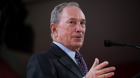 NEW YORK, NY - SEPTEMBER 13: Former New York City Mayor Michael Bloomberg delivers remarks during a dedication ceremony to mark the opening of the new campus of Cornell Tech on Roosevelt Island, September 13, 2017 in New York City. Seven years ago, the former mayor created a competition that invited top universities to open an applied-science campus in New York City. Cornell Tech, an engineering and science campus of Cornell University, officially opened its doors today.  (Photo by Drew Angerer/Getty Images)