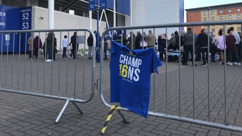 Many of the tributes referenced Leicester's Premier League triumph in 2016.