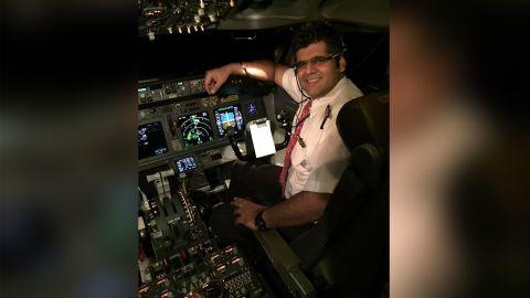 Lion Air captain Bhavye Suneja.