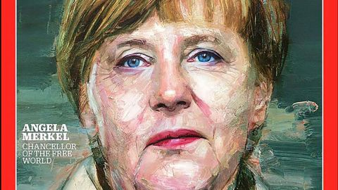 Merkel was named Time magazine's Person of the Year in 2015. Time Editor-at-Large Karl Vick described her as