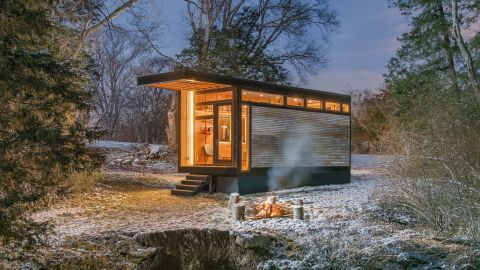 The Cornelia, built by New Frontier Tiny Homes.