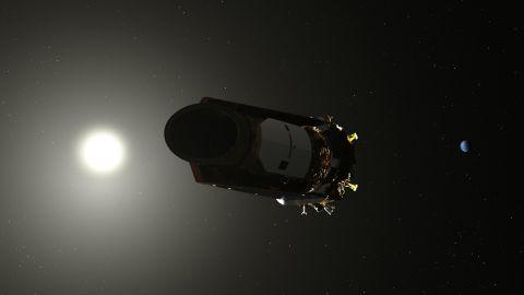Artist's conception of Kepler.