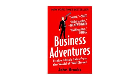 """<a href=""""https://amzn.to/2POisvv"""" target=""""_blank"""" target=""""_blank""""><strong>""""Business Adventures: Twelve Classic Tales from the World of Wall Street"""" by John Brooks ($10.77; amazon.com) </strong></a>"""