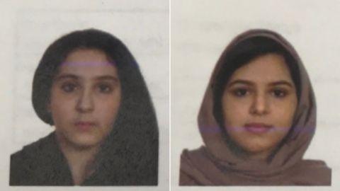 Tala Farea, 16, and Rotana Farea, 23, were found dead last week.