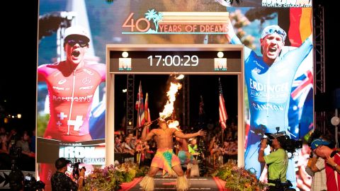 The Ironman World Championships have been held in Kailua-Kona, Hawaii, every year since 1978. This year's edition marked the event's 40th anniversary.  More than 2000 athletes embarked on a 140.6-mile journey, putting their bodies to the ultimate test.