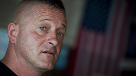 UNITED STATES - July 5: Richard Ojeda speaks with Roll Call inside Hot Cup, a local coffee shop in Logan, West Virginia Thursday July 5, 2018. Ojeda is a first-term lawmaker from southern West Virginia running to represent the state's 3rd Congressional District as a Democrat. Ojeda is best known as the Democrat who voted for President Trump and who was brutally beaten in an ambush the day before the primaries.