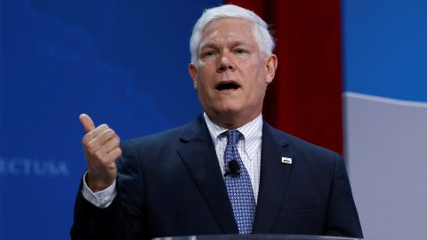Rep. Pete Sessions (R-TX) speaks at 2017 SelectUSA Investment Summit in Oxon Hill, Maryland, U.S., June 19, 2017.   REUTERS/Joshua Roberts