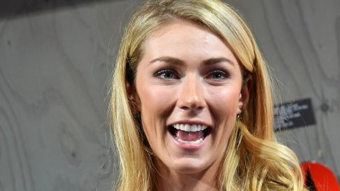 US Alpine skier Mikaela Shiffrin poses for photographers during the Atomic Racing-Media day 2018 in Salzburg, Austria on october 11, 2018. (Photo by BARBARA GINDL / APA / AFP) / Austria OUT        (Photo credit should read BARBARA GINDL/AFP/Getty Images)