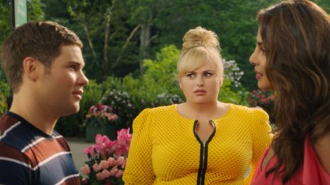 """Rebel Wilson stoked controversy with comments about her role in the upcoming film """"Isn't it Romantic."""""""