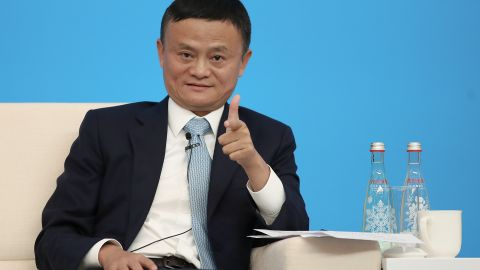 Alibaba co-founder and executive chairman Jack Ma is worth billions.
