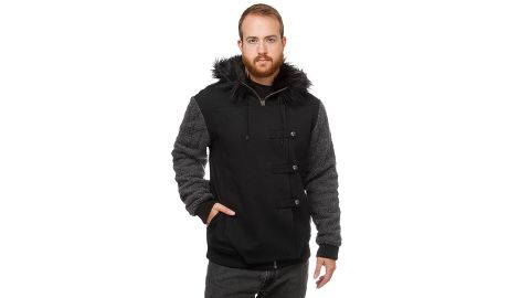 """<strong>'Game of Thrones' Jon Snow Fur Hoodie ($69.99; </strong><a href=""""http://www.anrdoezrs.net/links/8314883/type/dlg/sid/1218tvgifts/https://www.thinkgeek.com/product/ipll/"""" target=""""_blank"""" target=""""_blank""""><strong>thinkgeek.com</strong></a><strong>)</strong>"""