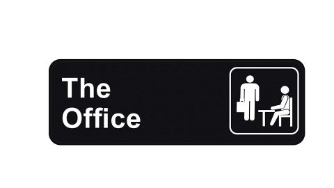 """<strong>'The Office' Sign ($7.95; </strong><a href=""""https://amzn.to/2Ry7SI4"""" target=""""_blank"""" target=""""_blank""""><strong>amazon.com</strong></a><strong>)</strong>"""