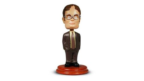 "<strong>'The Office' Dwight Schrute Bobblehead ($39.95; </strong><a href=""http://linksynergy.walmart.com/deeplink?id=Fr/49/7rhGg&mid=2149&u1=1218tvgifts&murl=https%3A%2F%2Fwww.walmart.com%2Fip%2FThe-Office-Dwight-Schrute-Bobblehead%2F958114856"" target=""_blank"" target=""_blank""><strong>walmart.com</strong></a><strong>)</strong><br />"