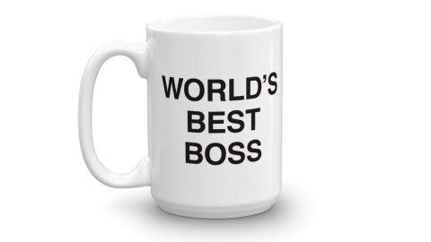 "<strong>World's Best Boss Mug ($18.95; </strong><a href=""https://amzn.to/2RH5Tl5"" target=""_blank"" target=""_blank""><strong>amazon.com</strong></a><strong>)</strong>"