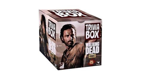 """<strong>'The Walking Dead' Trivia Game ($19.95;</strong><a href=""""https://amzn.to/2STsD2m"""" target=""""_blank"""" target=""""_blank""""><strong> amazon.com</strong></a><strong>)</strong>"""