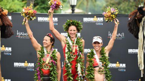 Ryf won her first Ironman World Championship in 2015.