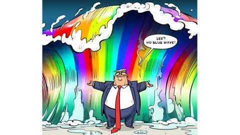 Rainbow wave:  Hajo de Reijger, The Netherlands