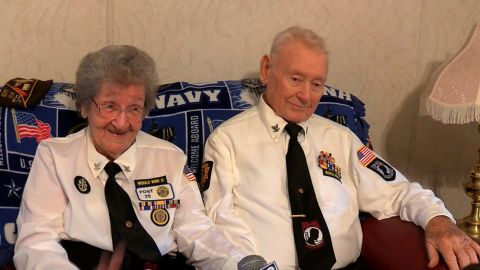 NS Slug: WV: MARRIED WWII VETERANS TOGETHER SINCE 1946  Synopsis: A West Virginia couple who both served in WWII have been together since 1946.  Keywords: WEST VIRGINIA WWII VETERANS MARRIED