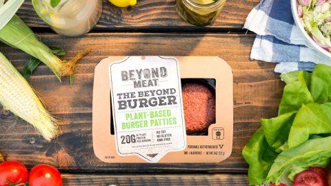 Beyond Burger Pack Shot Summer Grilling