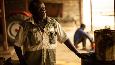 """71-year-old Wilson Shabalala's land claim was finally granted, only to see the government official in charge of the transfer, take the farm for himself. """"Sometimes I feel like I'm just like a security guard looking after this farm,"""" he says. """"I don't have the paper to say it's mine or not -- I am just guarding it."""""""