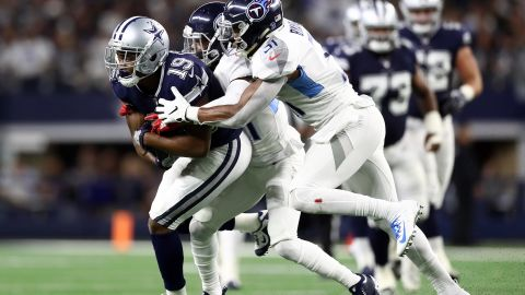 Amari Cooper was traded to the Dallas Cowboys from the Oakland Raiders for a first-round draft pick.