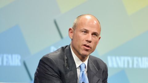BEVERLY HILLS, CA - OCTOBER 10:  Co-founder of Eagan Avenatti, LLP, Michael Avenatti speaks onstage at Day 2 of the Vanity Fair New Establishment Summit 2018 at The Wallis Annenberg Center for the Performing Arts on October 10, 2018 in Beverly Hills, California.  (Photo by Matt Winkelmeyer/Getty Images)