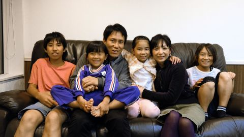 The Osakas say they'd like their children to experience the world first, instead of settling down immediately in Nagi-cho.