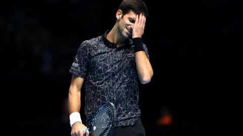 Novak Djokovic lost for only the third time since July.