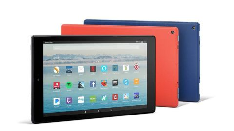 """<strong>Fire HD 10 Tablet with Alexa ($99.99, originally $149.99; </strong><a href=""""https://amzn.to/2zjIzmv"""" target=""""_blank"""" target=""""_blank""""><strong>amazon.com</strong></a><strong>) </strong>"""