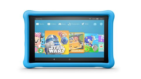 """<strong>All-New Fire HD 10 Kids Edition Tablet ($149.99, originally $199.99; </strong><a href=""""https://amzn.to/2S1PbwW"""" target=""""_blank"""" target=""""_blank""""><strong>amazon.com</strong></a><strong>) </strong>"""